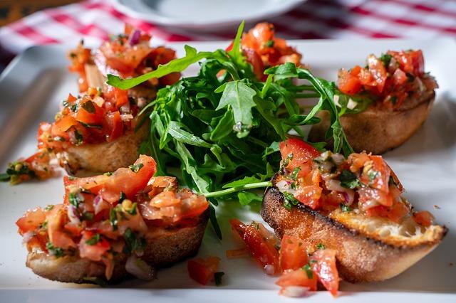 Oven-Roasted Tomato Crostini