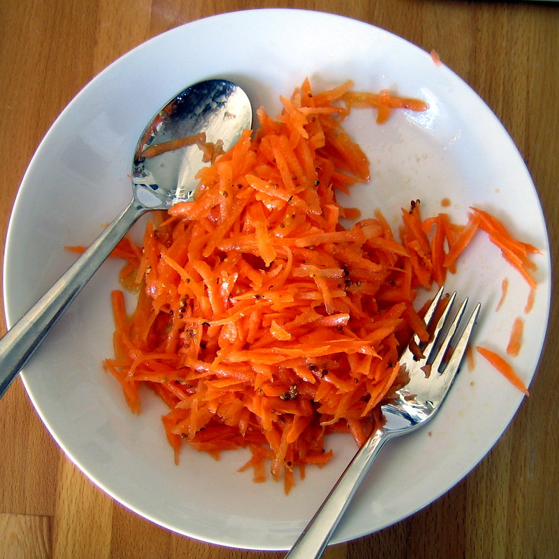 Winter Carrot Salad