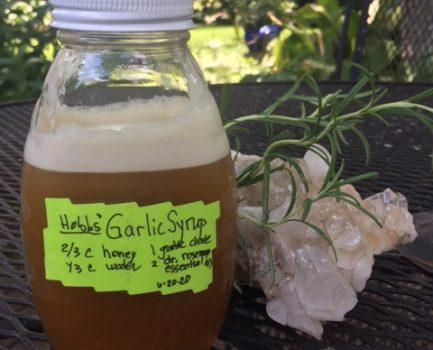 Garlic Honey Syrup – Immune Building, Antibacterial, and Antiviral