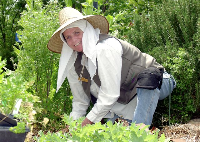 Tina Marie Wilcox presents Live from the Heritage Herb Garden at the Ozark Folk Center State Park in Mt. View, AR